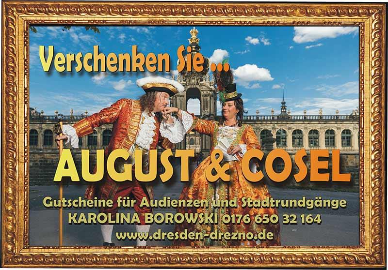 Gutschein für eine Stadtführung Dresden