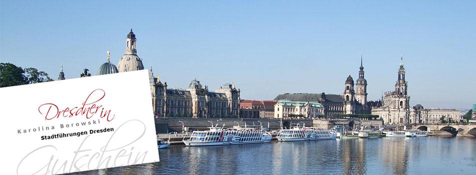 Dresden verschenken – Gutscheine für besondere Anlässe
