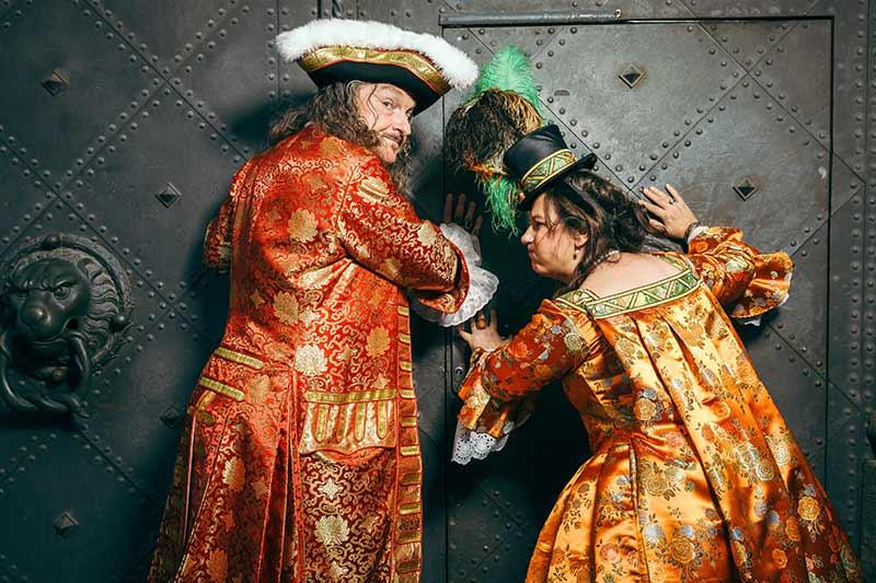 Gräfin Cosel und August der Starke für Feiern und Feste - © Robert Jentzsch   www.rjphoto.de